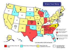 Map of Shame War on Voting