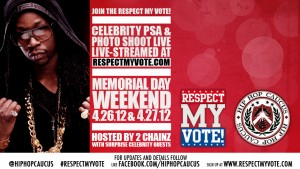 Join the Respect My Vote! Celebrity PSA & Photo Shoot Live-Streamed at RespectMyVote.com