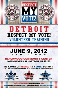 Respect My Vote! Detroit Volunteer Training