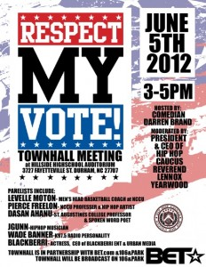 Respect My Vote! & BET High School Town Hall