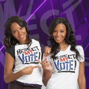Vanessa and Angela Simmons Hip Hop Caucus Respect My Vote